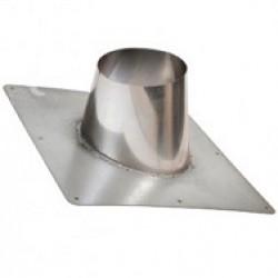 Dakplaat hellend 5 - 25 graden met RVS stut