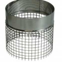Gaas-adapter voor enkelwandige regenkap.