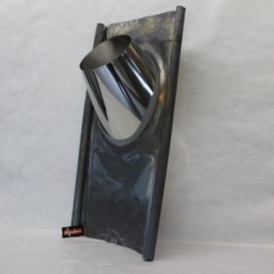 Dakdoorvoer loodslab 40-60° zwart